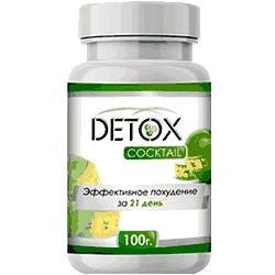 Внешний вид водорослевого коктейля detox для похудения