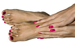 Состав Экзодола регенерирует кожу и ногтевую пластину.